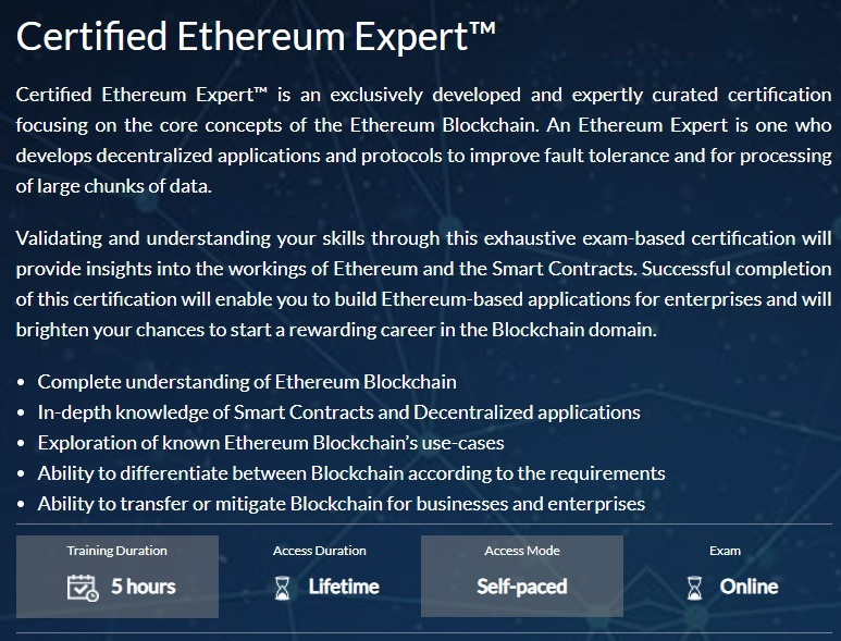 Ethereum Course
