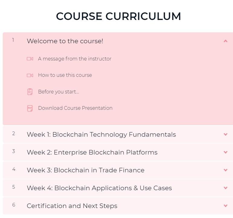 Certified Enterprise Blockchain Professional (CEBP)